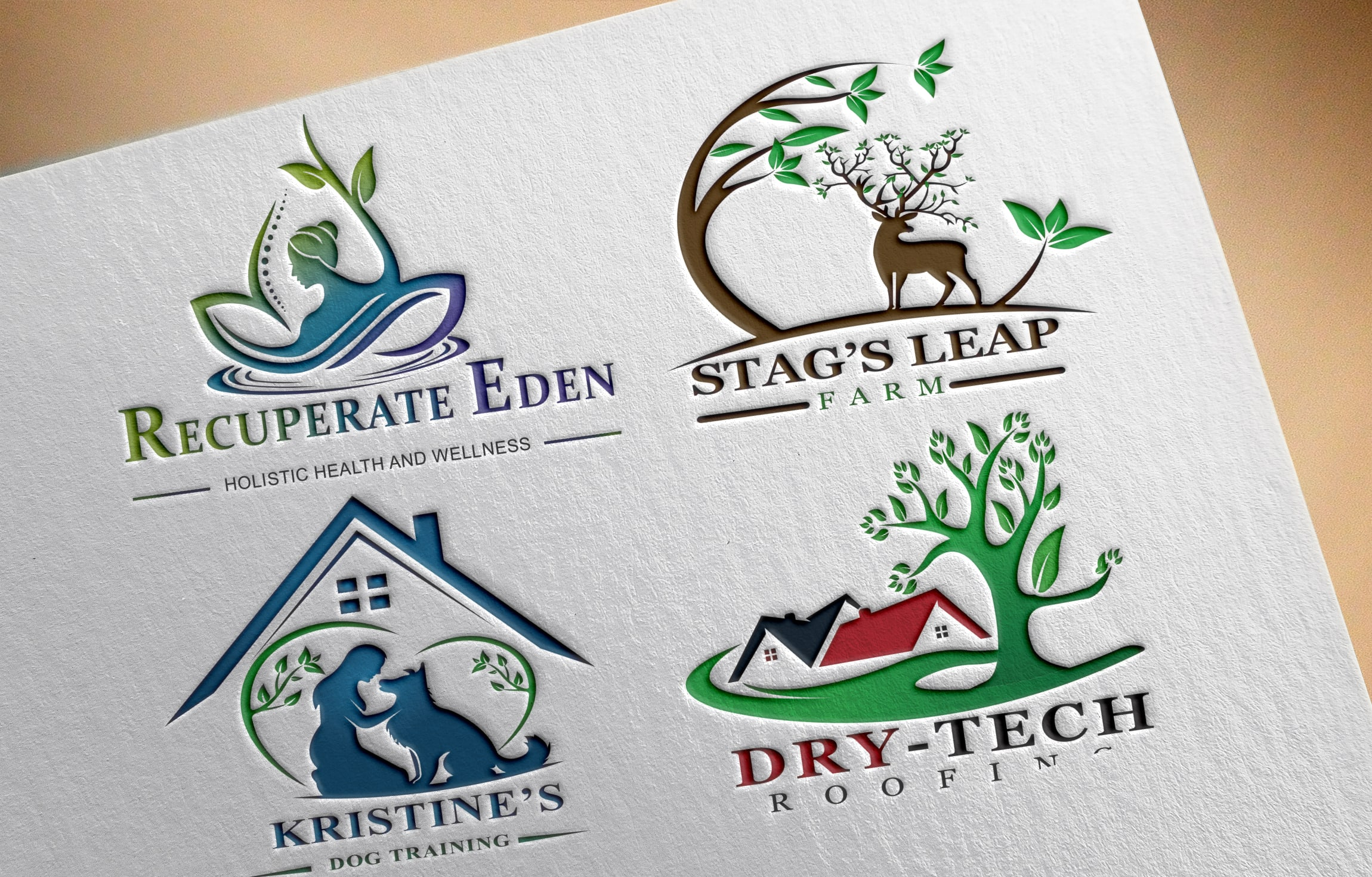 I will design a beautiful and natural logo for your company or business