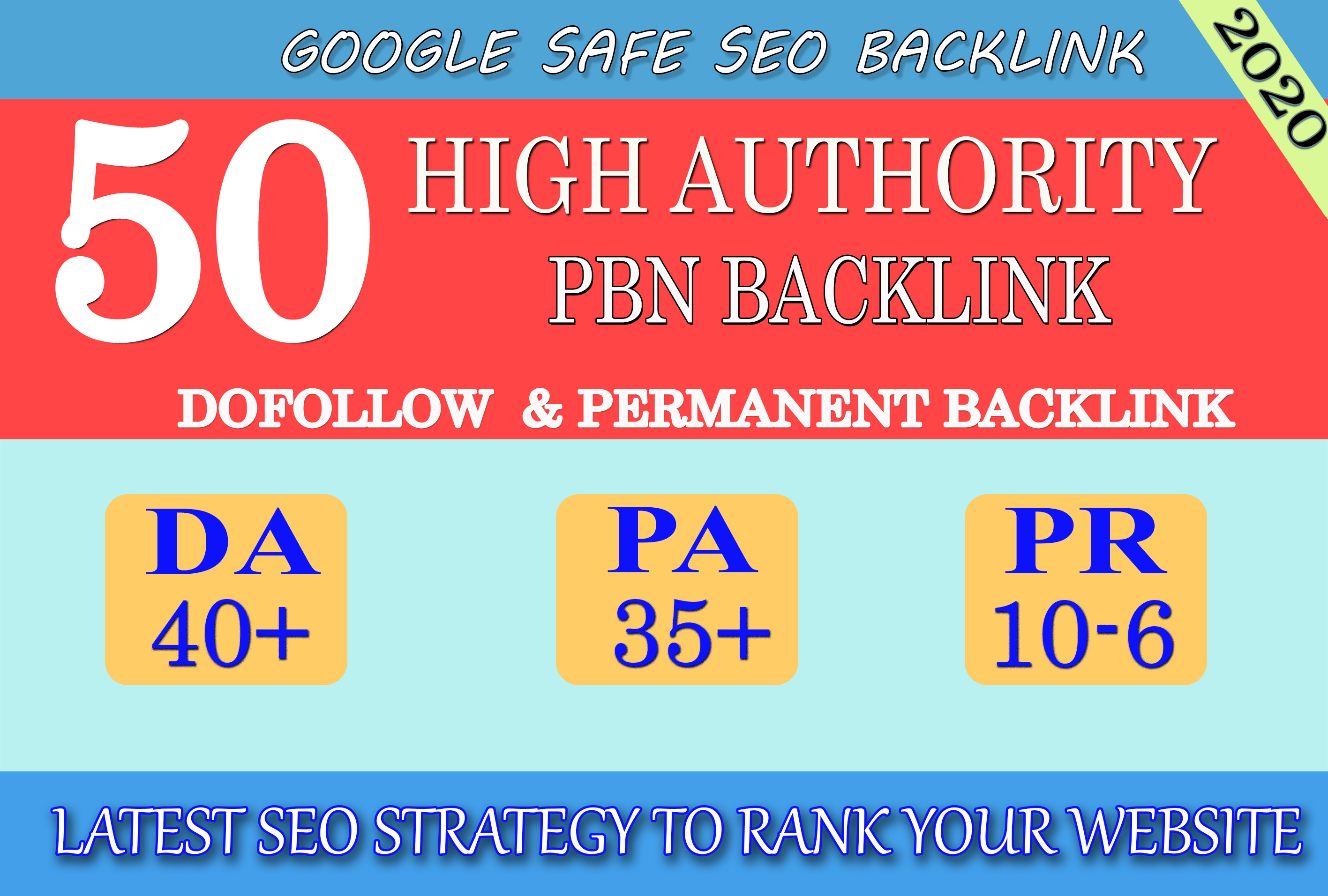 DA 40+ PA 35+ PR 6+ Web2 High Quality 50 PBN Backlink & 100 Dofollow & Unique Site
