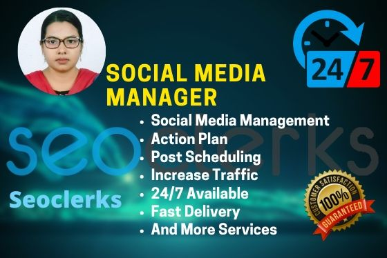 I will be to your personal social media manager