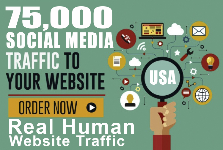I will manage 75k USA targeted social traffic