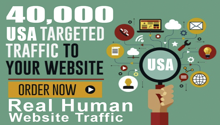 40,000 Web Traffic Visitors Deal With 2500+ Visitors Daily