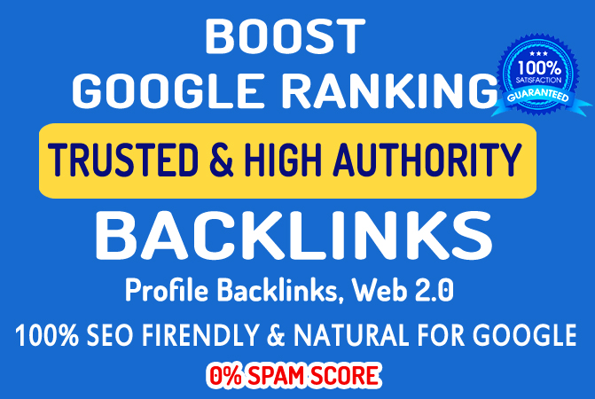 30 Profile Backlinks / Profile Creation - Dofollow Quality Backlinks
