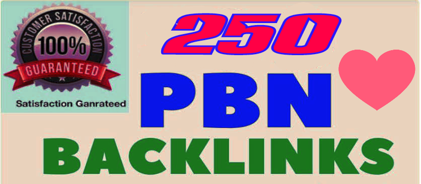 Fabricate Premium 250+ Back-connect with DA 40+ PA 40+,  PBN in your webpage with 250+ uncommon