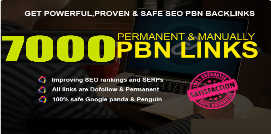 Get 7000+ powerful and safe PBNs Backlink with DA 70+ PA 80+ with unique website
