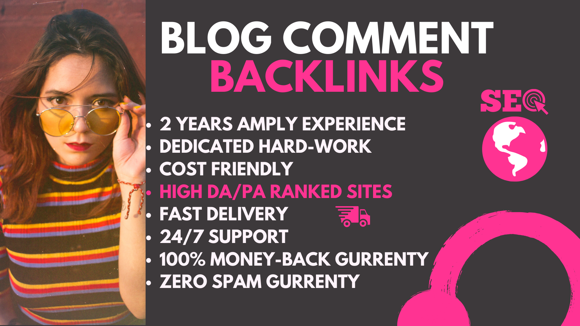 Create 30 Niche Blog Comment High Authority Backlinks