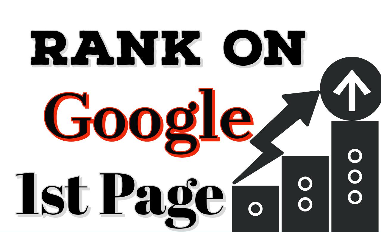 Rank on Google with HQ linkbuilding