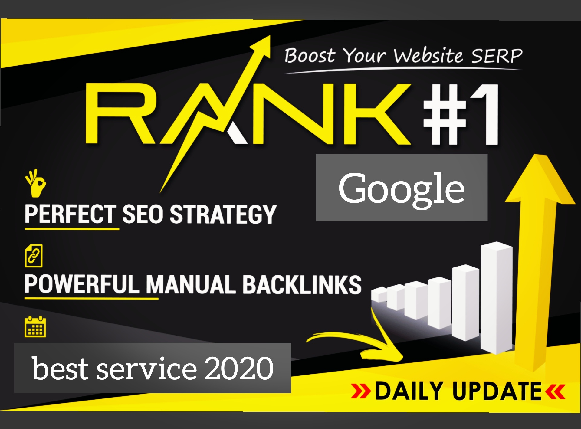 Exclusive backlinks boost your Domain for Google rank