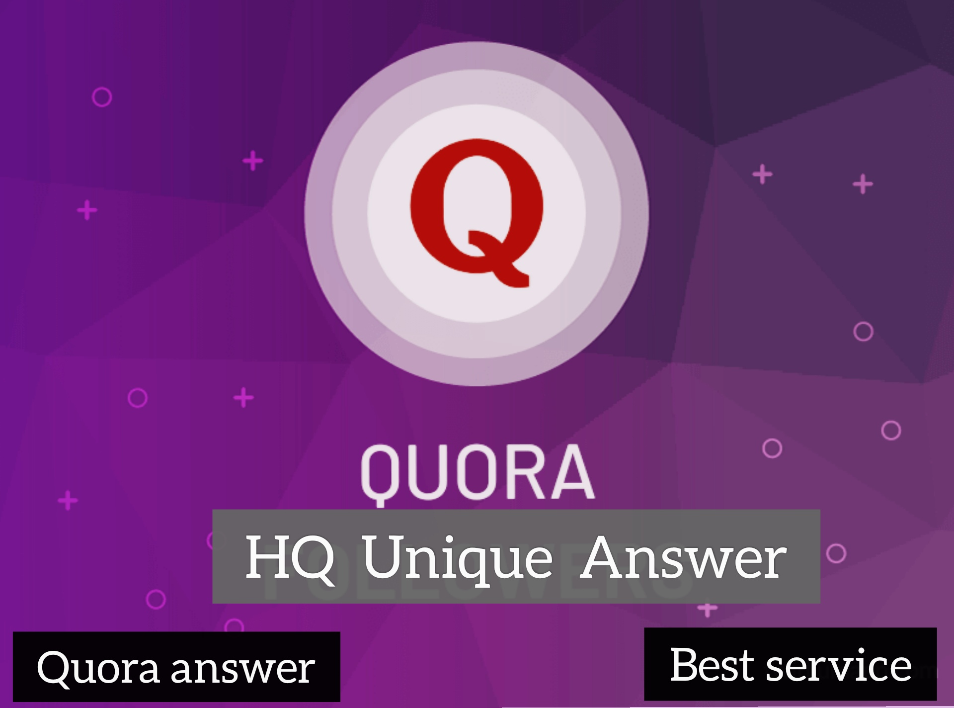 Get targeted traffic & Boost your domain for 15+ high quality Quora answer