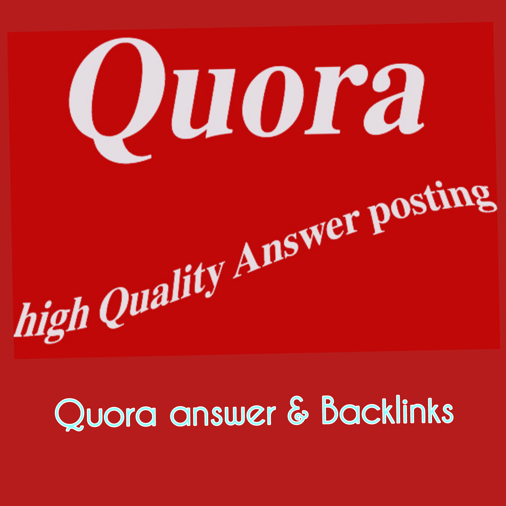 Rocket types promote your website unique 30+ quora answer backlinks