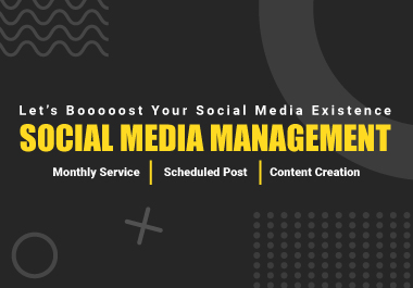 I Will be Your Social Media Manager for One Month