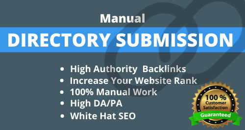 I will do 20 high authority Directory submission