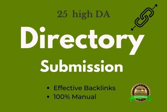 I will submit your website in 25 PR directories
