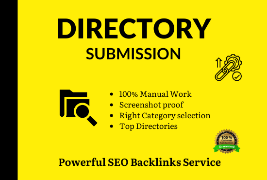 I will Submit Your Website in 75 Quality directories