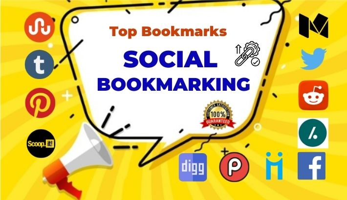 Manually 50 Social bookmarking live link for boost website ranking
