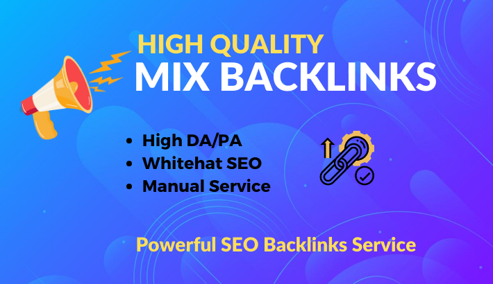 All in One 200 Manual Backlinks Profile, Bookmark, Directory, Guest Post for SEO