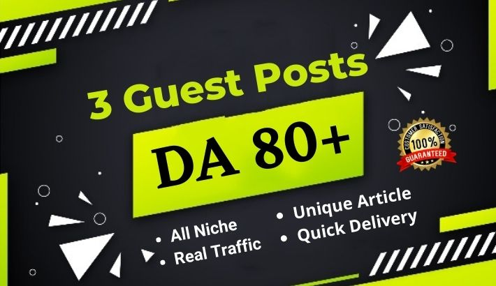 3 Guest Post on DA 80+ blog Medium,  Bloglovin & Behance