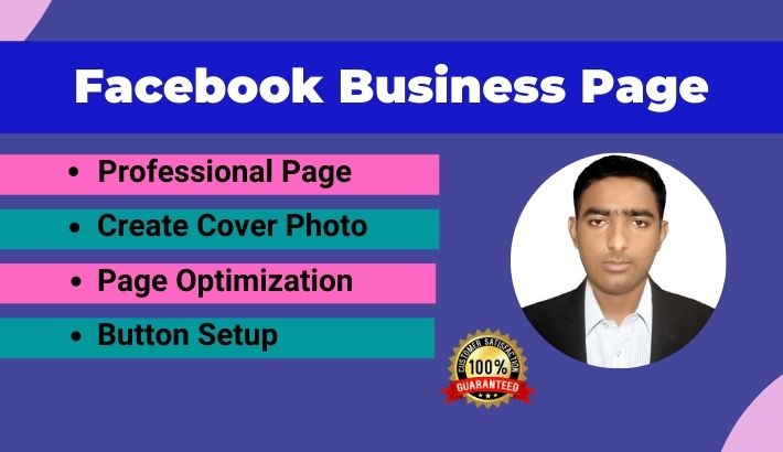 Professional Facebook Business Page Creation,  optimization & many more