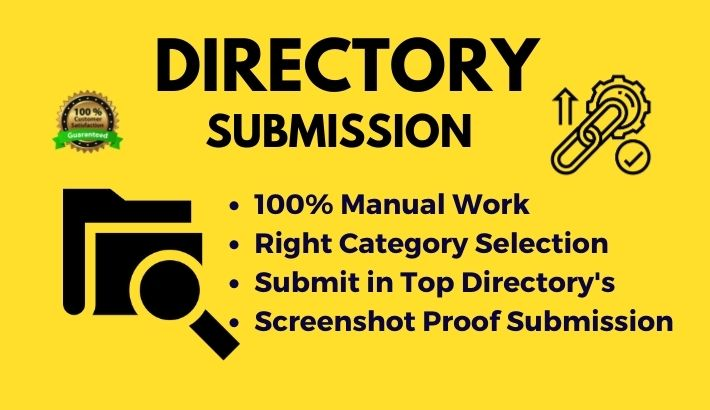 Top 50 PR Directory Submission Manually for google ranking