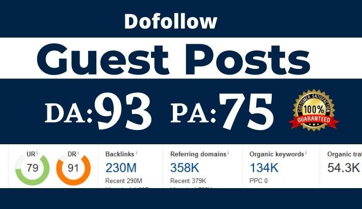 Dofollow Guest post on Bloglovin. com - DA 93