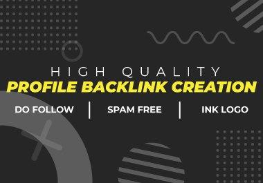 Manually 50 High Authority Social Profile Creation backlinks - DA 60+