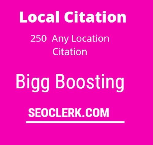 250+ High DA Local Map Citation on SEO Link building