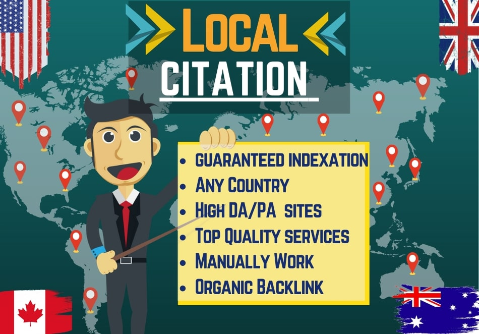I will provide 30 Local Citation or Local Listing service for your business website