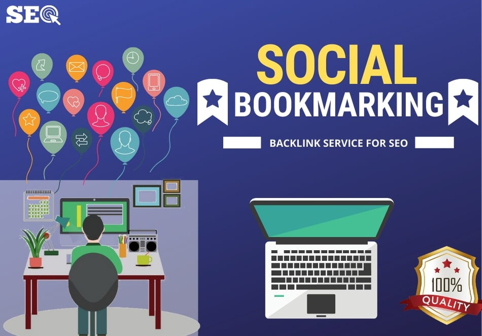 I will provide authentic 25 Social Bookmarking Backlink services for your website