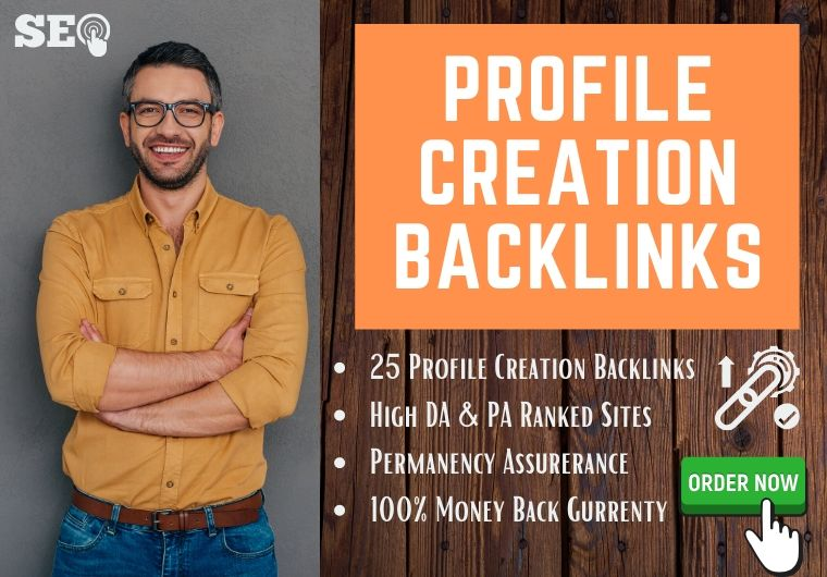 I will provide authentic 70 social profile creation backlinks service for your website