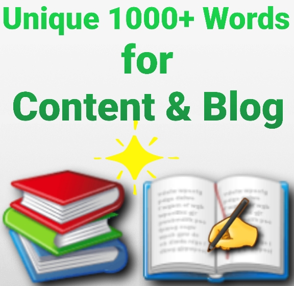 Unique 1000+ words content and blog skill writing