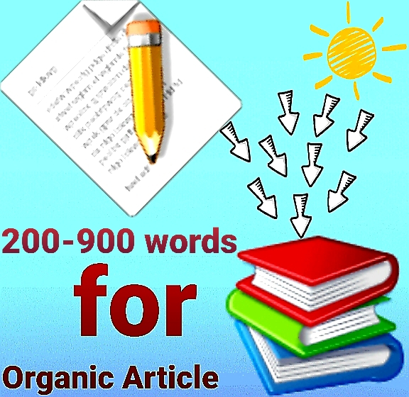 200-900 words organic article for following domain