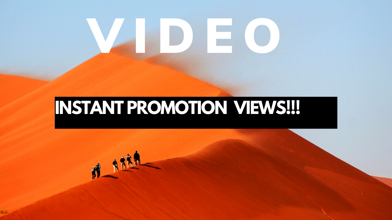 REAL fast youtube video promotion