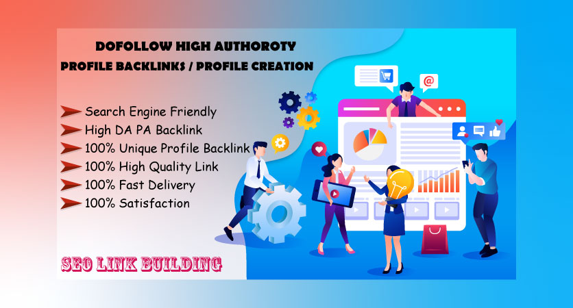 I Will Provide For You High Quality 25 Profile Backlink With High DA-PA