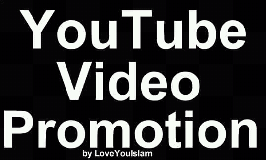 Add YouTube Video High Quality Promotion Marketing