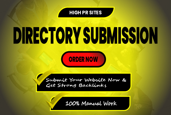 40+ High Quality Directory Submission Backlinks Manually