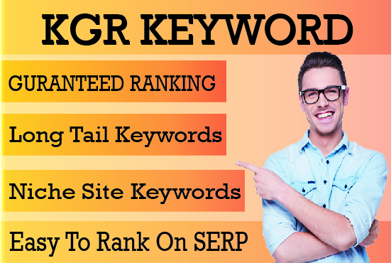 I will do 100 kgr keyword research for your niche