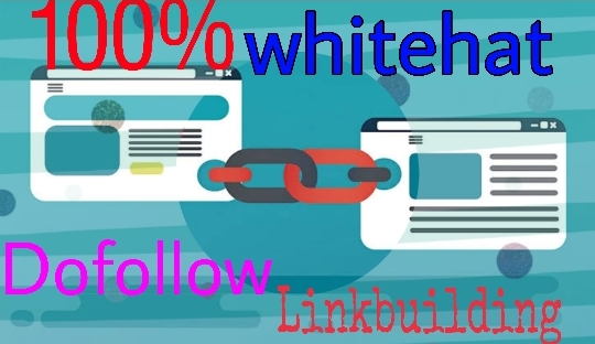Get 15+ white hat linkbuilding to boost your website.