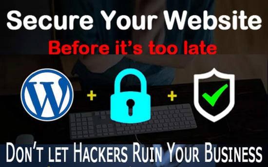 secure your wordpress website,  complete wordpress security