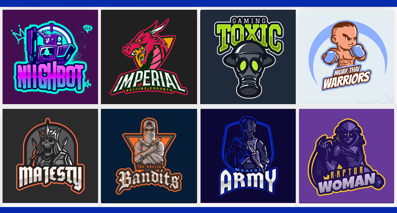 I will design awesome sports,game,mascot, twitch and esports logo + free banner