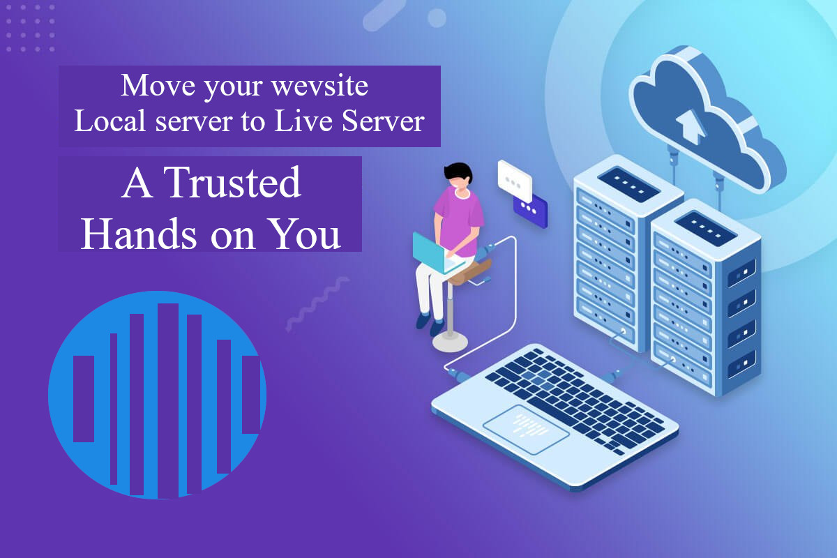 Move Your website from local server to your Live domain Server