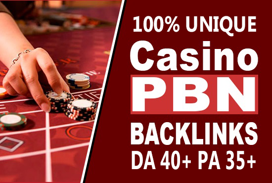 Poker/Casino/Gambling 100 web 2.0 PBN Dofollow Backlink Unique Sites DA 40+ PA 35+