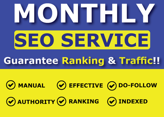 Show in google 1'st page in 12 weeks & Grow your site's Domain Rank