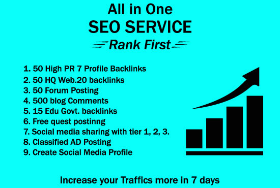 I Will Build High PR Quality Do follow SEO Backlinks