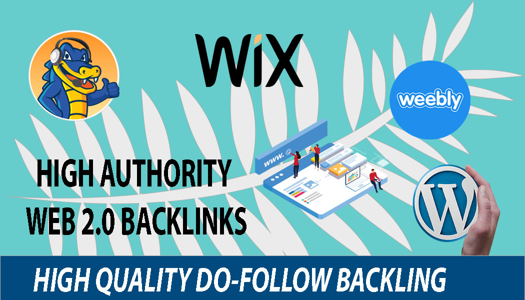 I Will Do 10 High Quality Web 2.0 Backlinks For Your Website