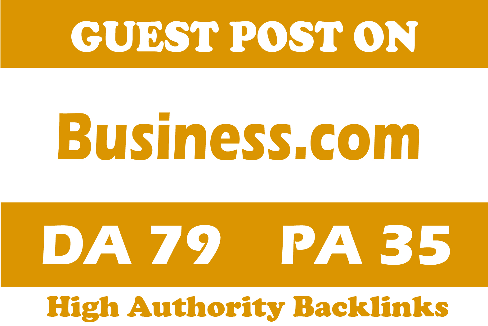 Publish guest post on business related high quality site for your website ranking
