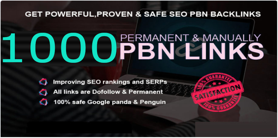 Get Extream 1000+ PBN Backlink in your site with HIGH DA/PA/TF/CF with exceptional site