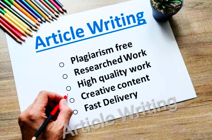 750+ words H/Q article writing submission