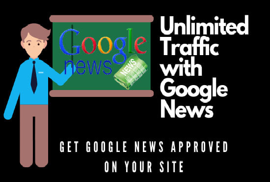 I will get google news approved on your domain