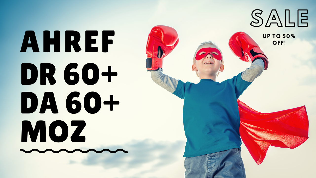 I Will Increase Your Site Ahref DR and Moz DA by 50+