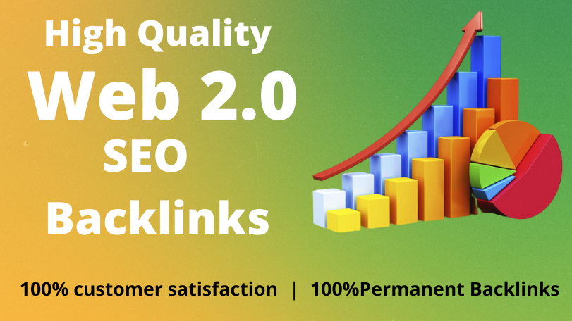 I will provide 15 high quality web 2.0 SEO backlinks for your website Ranking