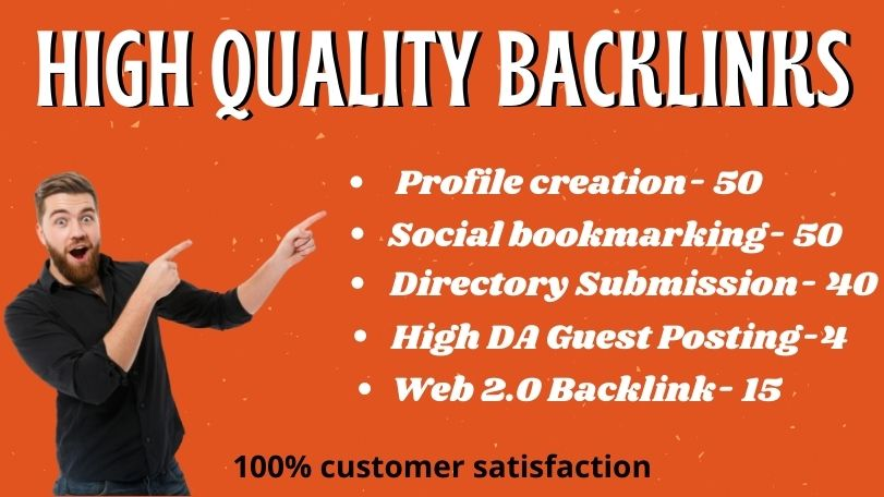 I will create 150+ High Quality Mixed SEO Backlink /Link Building